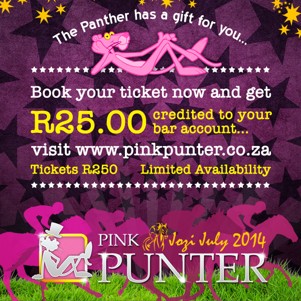 Pink Punter 2014 - Early Bird Tickets